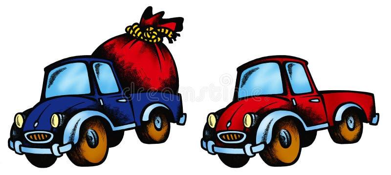 Download Car&present colour stock illustration. Image of child - 1552247