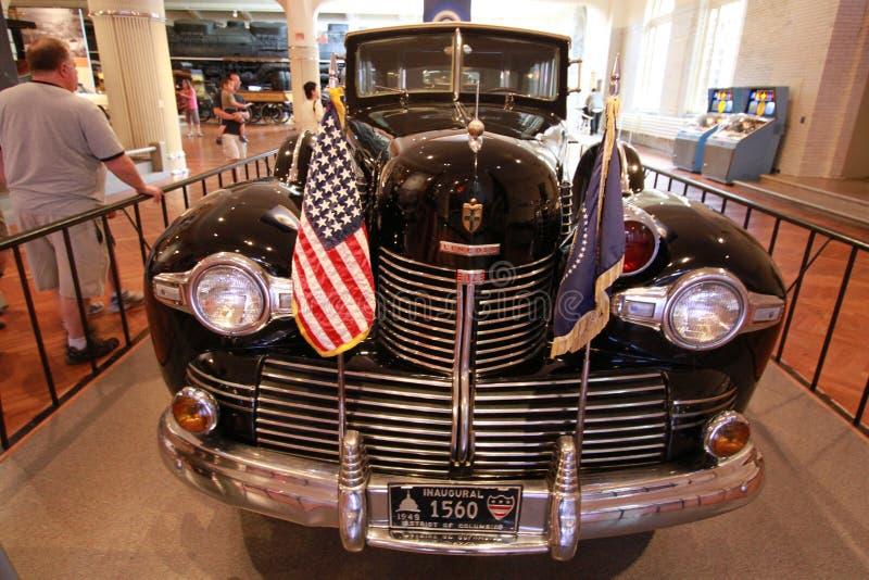 The car of President Franklin Delano Roosevelt stock photo