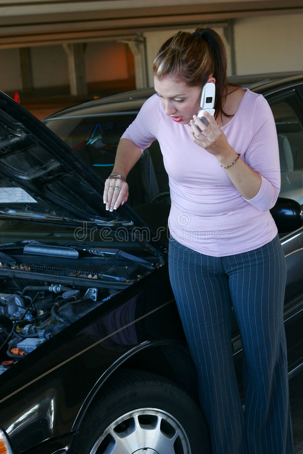 Car problems stock image
