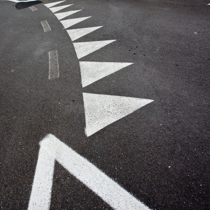 Car race asphalt. And curb stock image