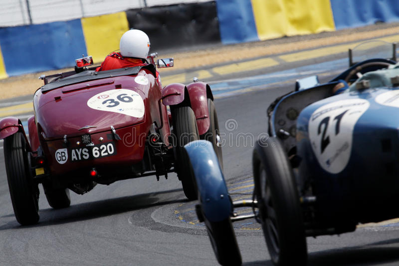 Car Racing,Le Mans Classic 24h Race royalty free stock photos