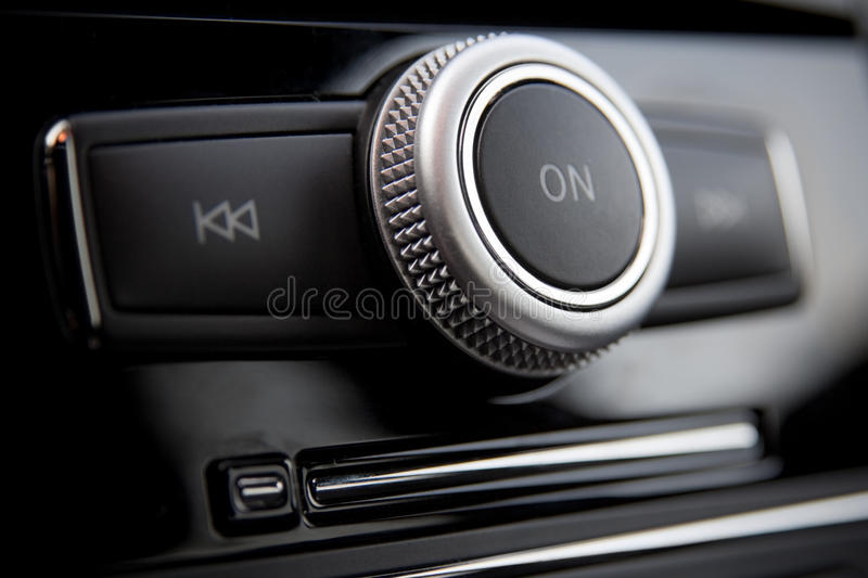 Download Car Radio Control Buttons Royalty Free Stock Photo - Image: 9405125