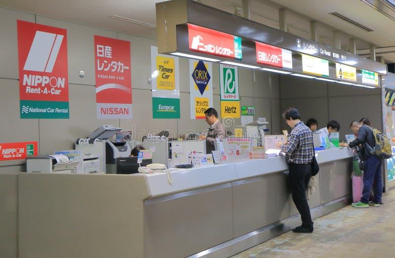 Car rental hire company Japan royalty free stock photography