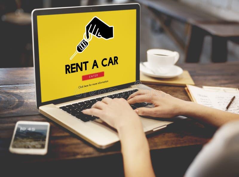 Car Rental Used Car Transportation Vehicle Concept royalty free stock photos