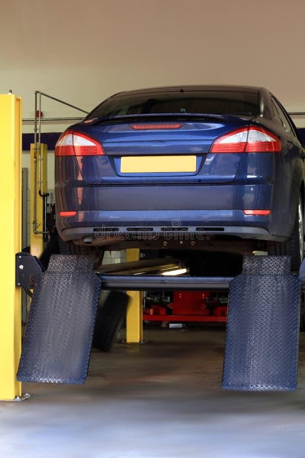 Car repair center royalty free stock images