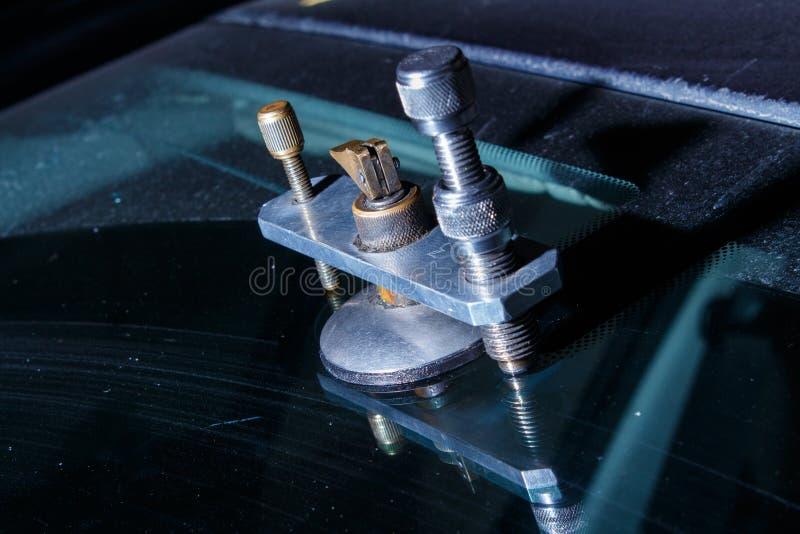 Car repair service stock image