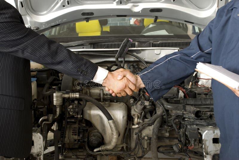 Car Repair Service royalty free stock images