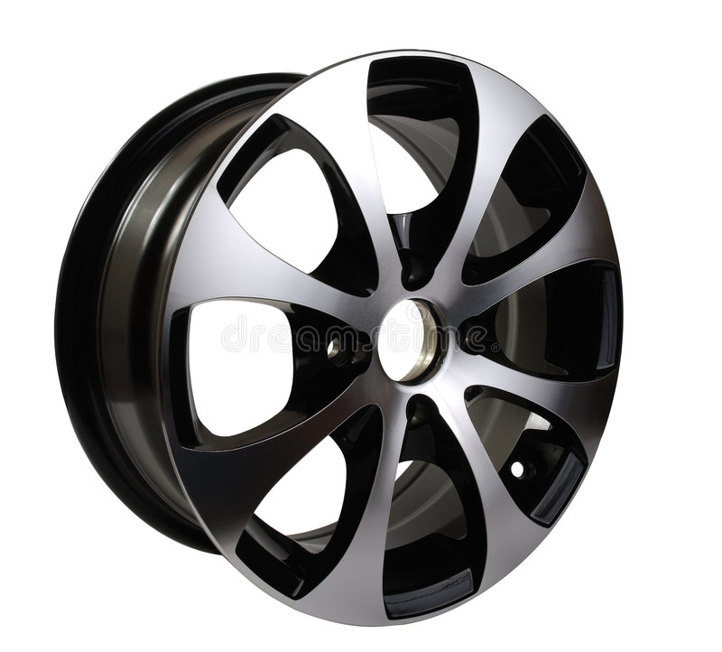 Download Car rim stock image. Image of automobile, single, shiny - 9108161