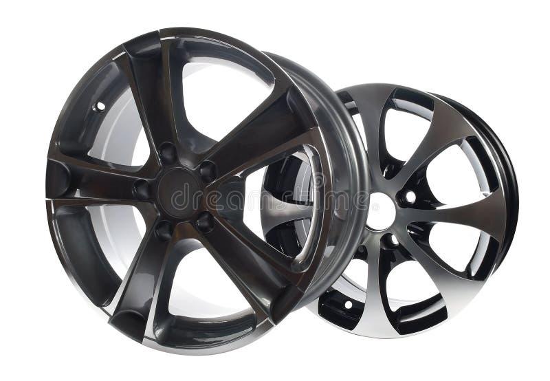 Download Car rims stock photo. Image of spoke, white, disk, aluminum - 9099598