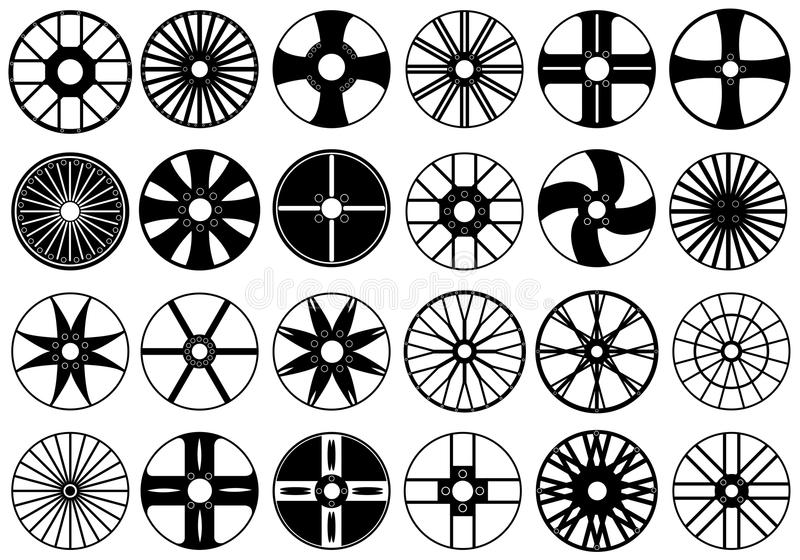 Download Car Rims Illustration Royalty Free Stock Image - Image: 27101706