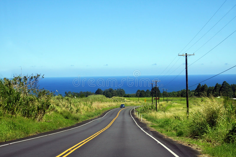 Download Car on the road stock photo. Image of field, green, clean - 4391526
