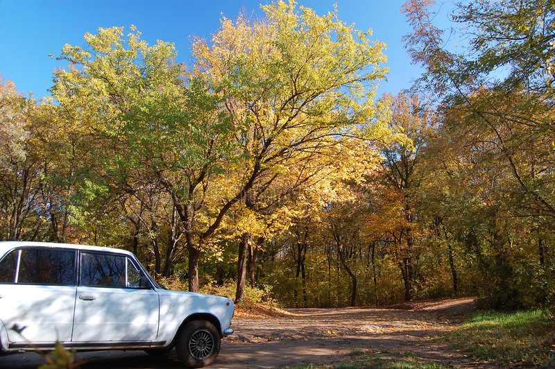 Download The Car On A Roadside Stock Photography - Image: 3641552