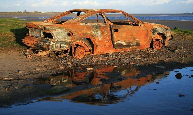 car rusty στοκ φωτογραφία