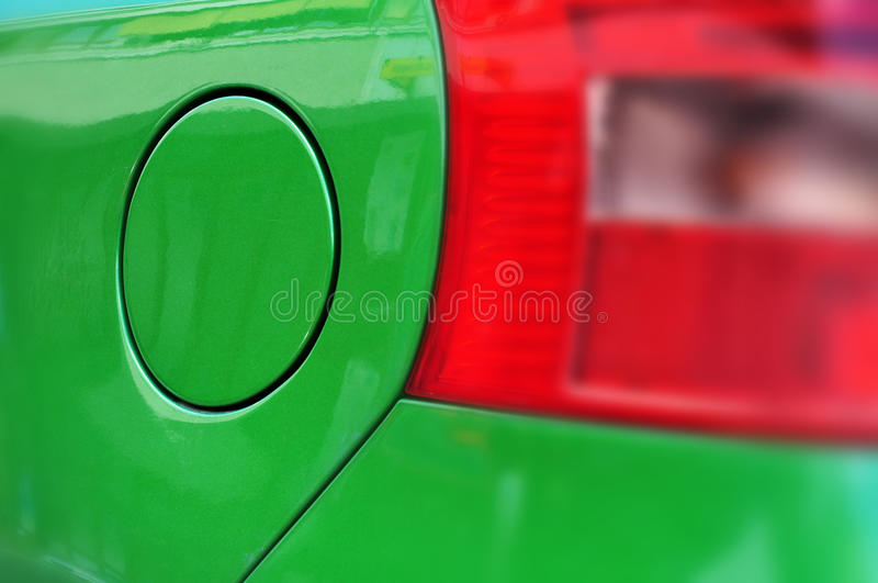 Download Car's green fuel tank stock image. Image of blur, background - 25549553