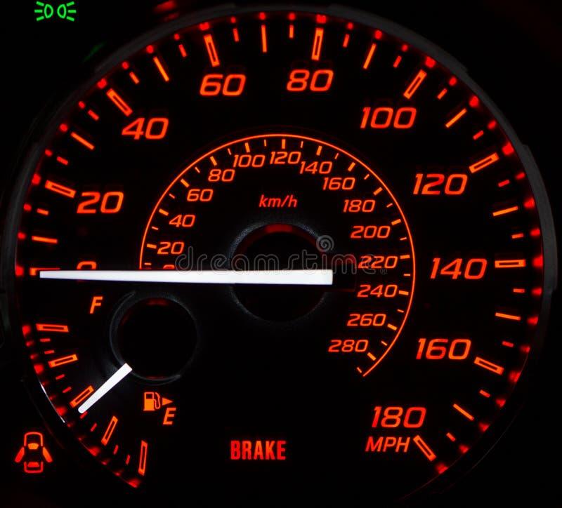 Car' s-instrumentpanel royaltyfria foton