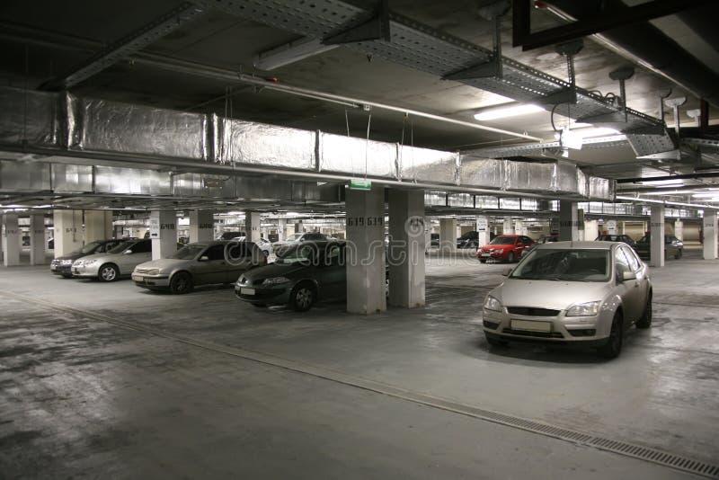 Car`s parking stock image