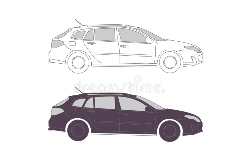 Download Car In S For Presentation Stock Photo - Image: 16464050