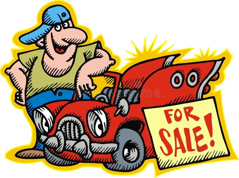 Download Car for sale stock vector. Illustration of gasoline, fuel - 10513847