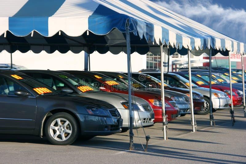 Car sale stock image