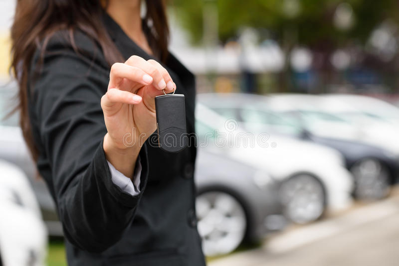 Car sales and rental concept royalty free stock images