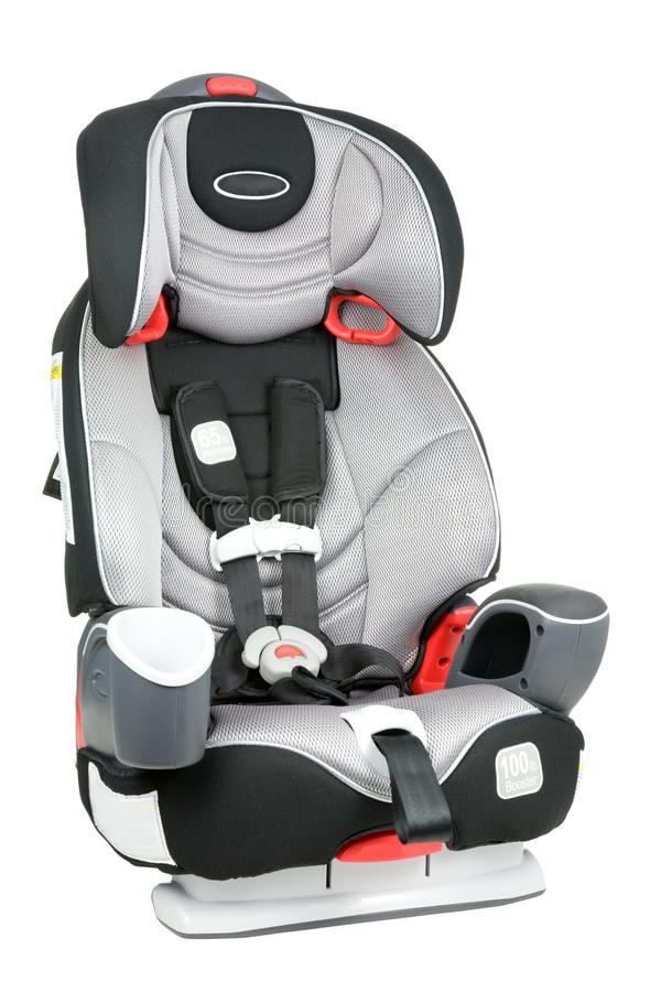 Car Seat Isolated royalty free stock image