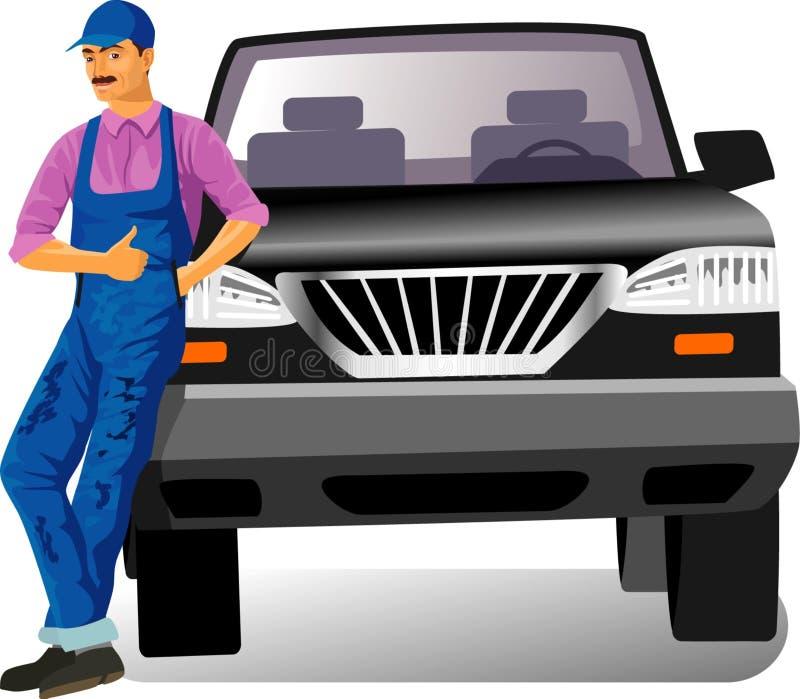Car service stock illustration