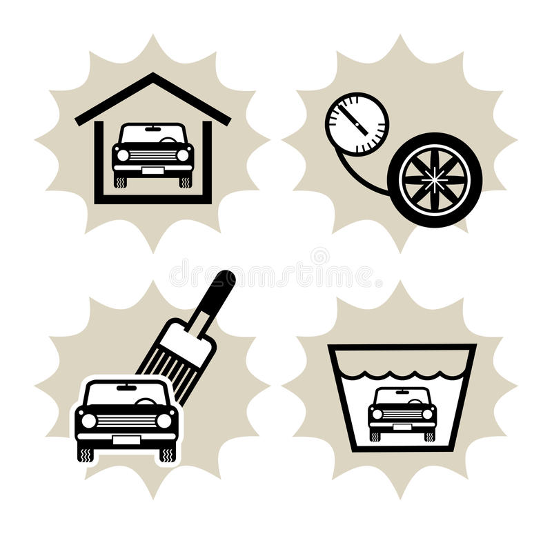 Download Car service icon stock vector. Illustration of power - 19399495