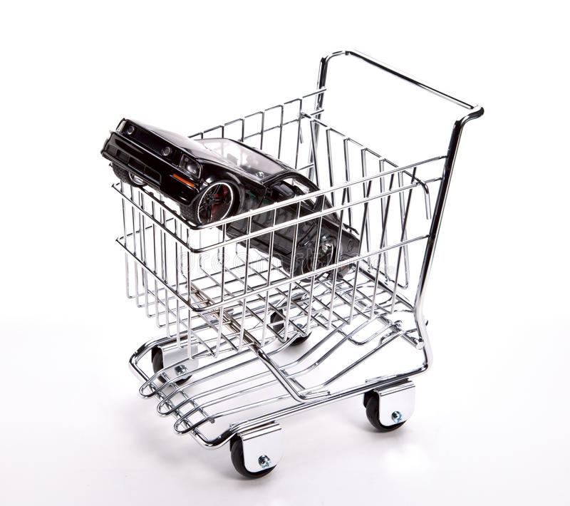 Download Car Shopping Cart Concept Royalty Free Stock Photography - Image: 21960757