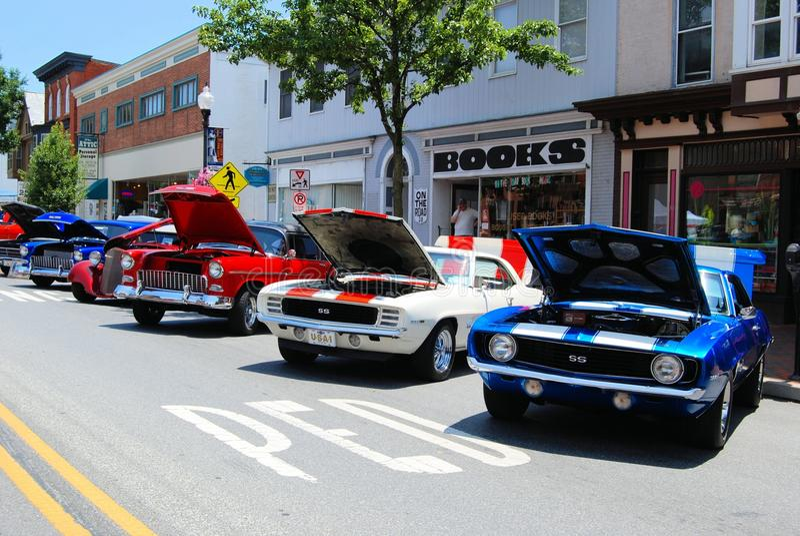 Car Show antiguo fotografía de archivo
