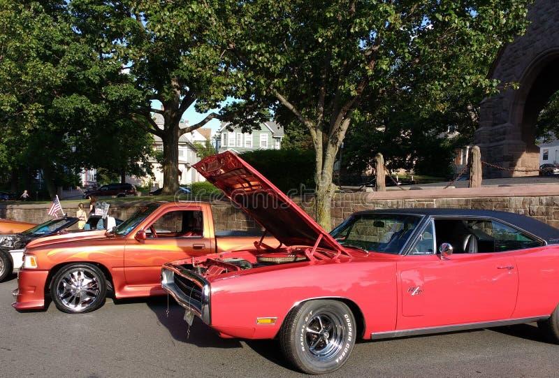 Car Show classico, New Jersey, U.S.A. fotografia stock