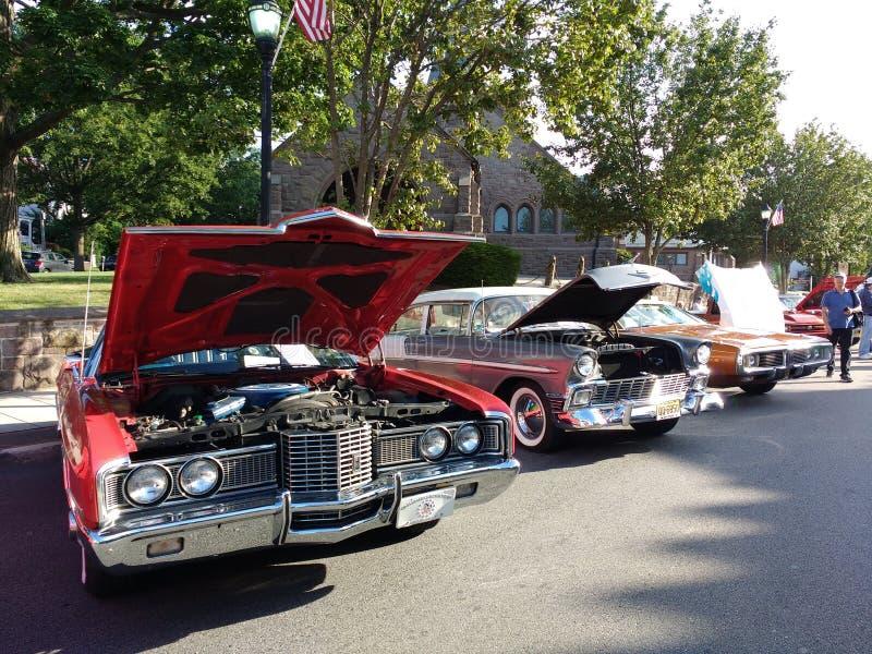 Car Show classique, New Jersey, Etats-Unis images libres de droits