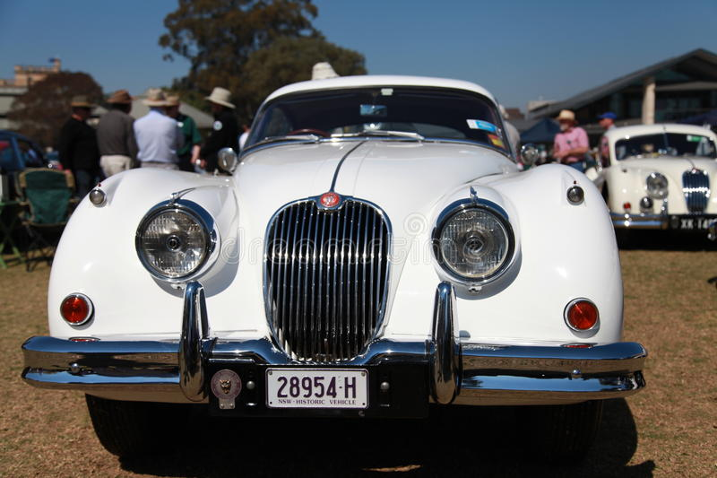 Car Show d'Australie aux Rois School photographie stock