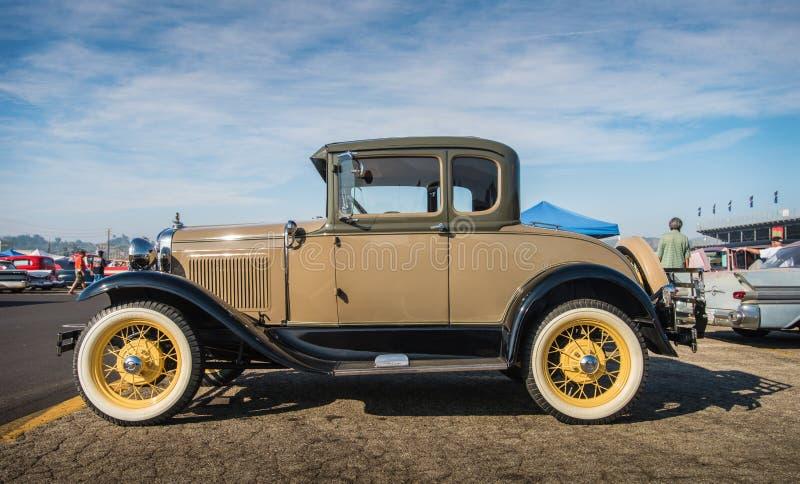 Car Show 2016 de Ford Coupe 1931 - de Pomona fotografia de stock