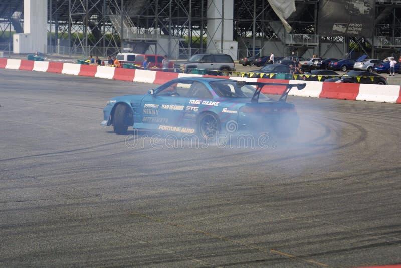 Car Show della deriva del Motorsports dell'ingresso I 2018 immagini stock libere da diritti