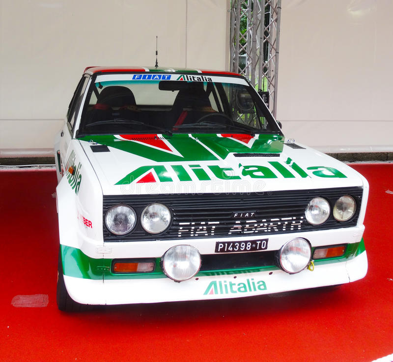 Car Show do ar livre, Turin, Itália imagem de stock royalty free