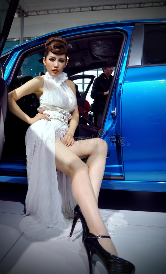 Car Show In Wuhan Editorial Photo