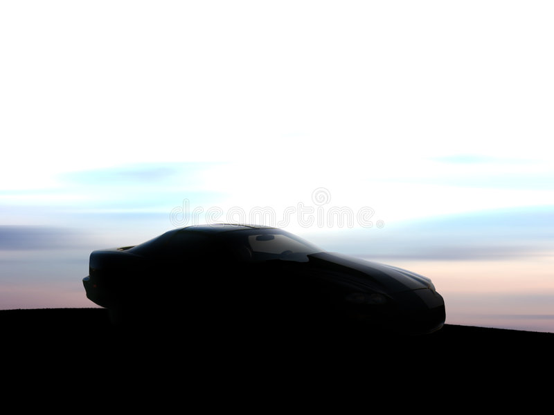 Download Car silhouette stock image. Image of expensive, health - 470127