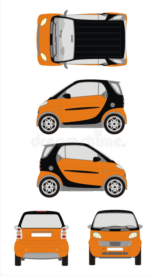 Car Smart Royalty Free Stock Images