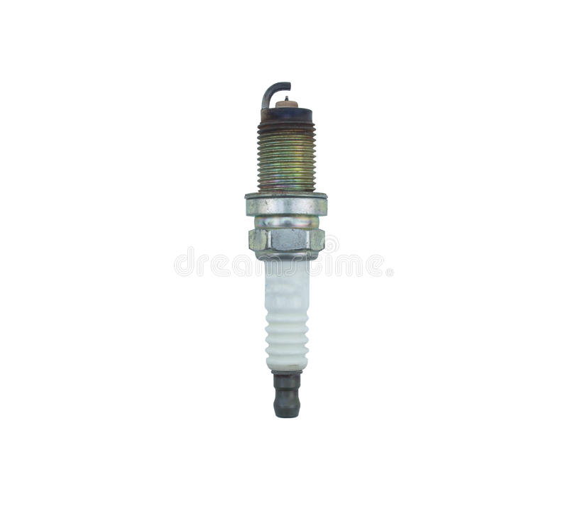 Car spark plug ignition stock images