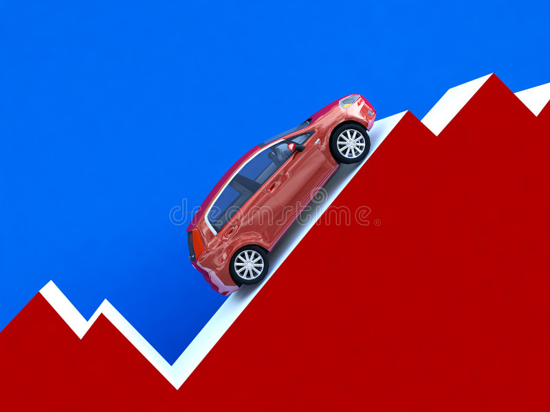 Car Stat Business Royalty Free Stock Photo