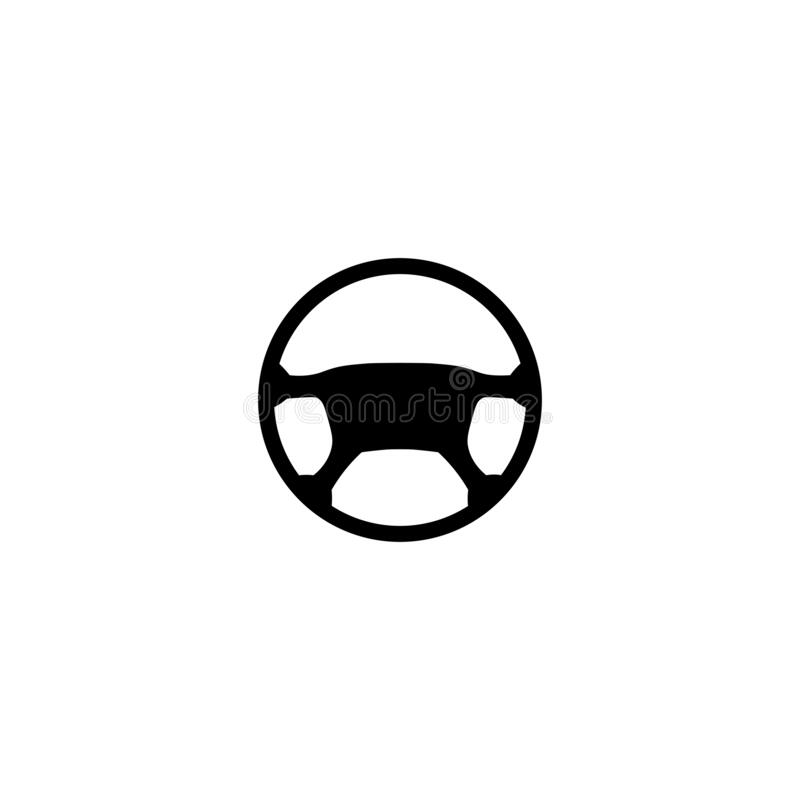Free Car Steering Wheel Black Sign Icon. Vector Illustration Eps 10 Royalty Free Stock Images - 178689379