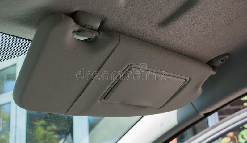 car sun visor stock photo image of design vehicle classic 53523740. Black Bedroom Furniture Sets. Home Design Ideas