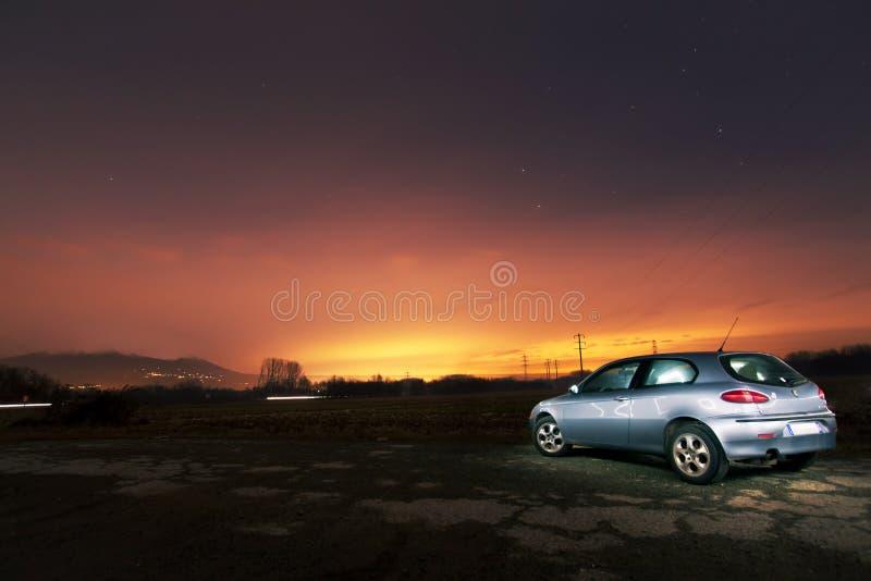 Car At Sunset Free Public Domain Cc0 Image