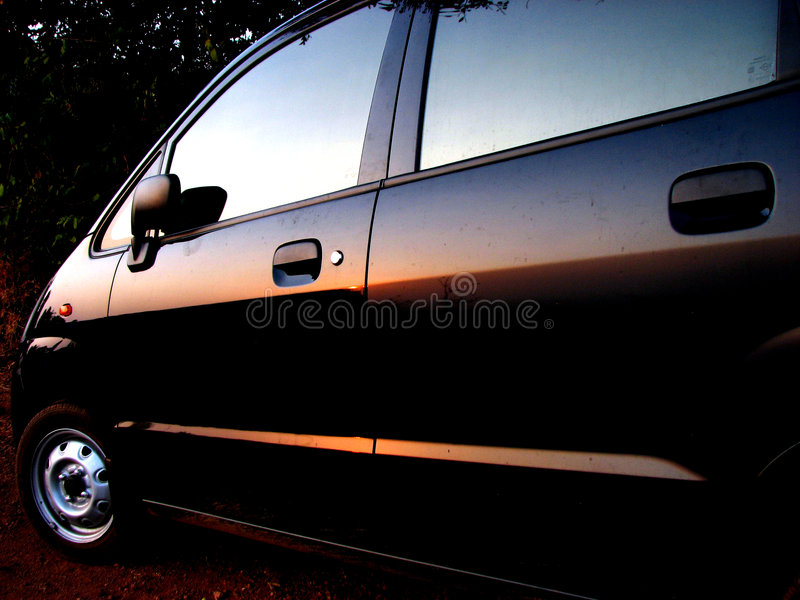 Download Car Sunsets Stock Photo - Image: 2314290