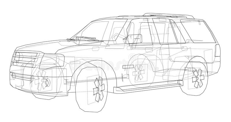 Car suv drawing outline stock illustration illustration of design download car suv drawing outline stock illustration illustration of design 113671358 malvernweather Image collections