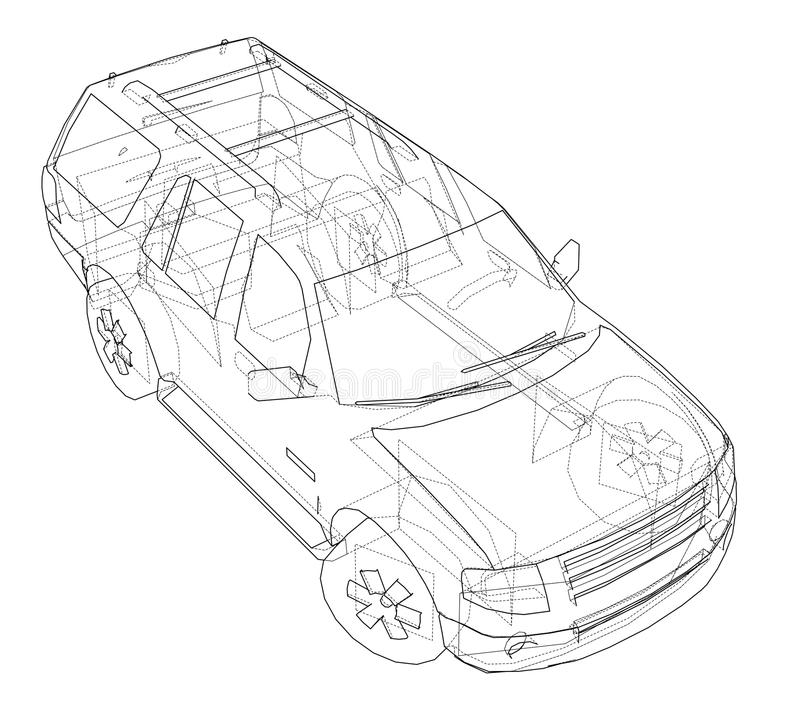 Car suv drawing outline stock illustration illustration of wheel download car suv drawing outline stock illustration illustration of wheel 113671438 malvernweather Gallery