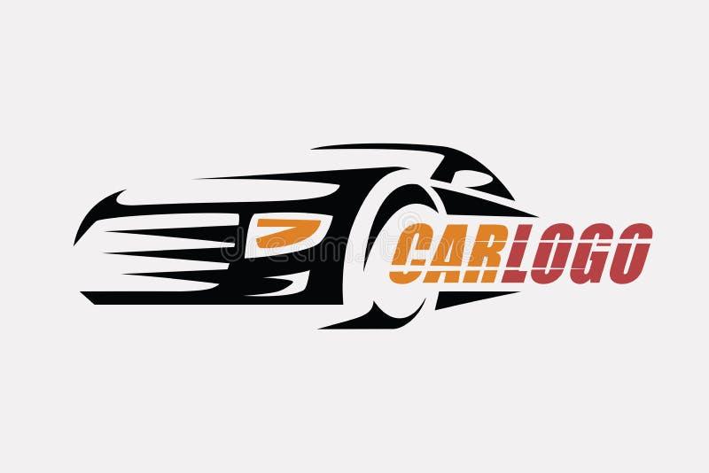 Car symbol logo template stock illustration
