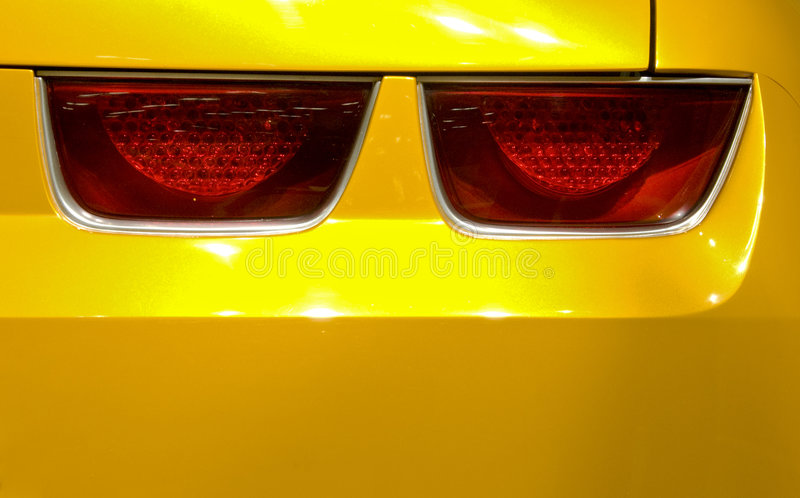 Car Tail Lights Royalty Free Stock Images
