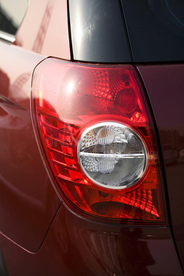 Car Tail Lights Royalty Free Stock Image