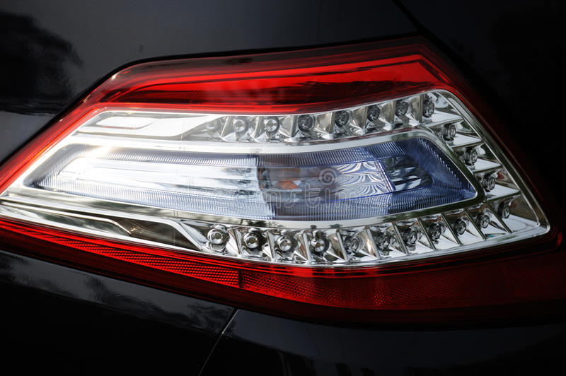 Download Car taillight stock image. Image of dark, fast, explore - 20380099